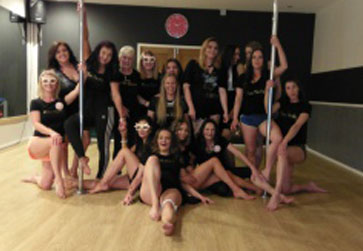 Ice-Pole pole dancing testimonial
