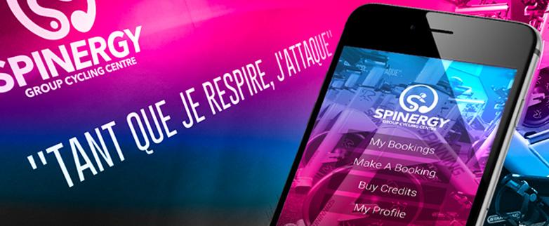Spinergy Custom Branded App