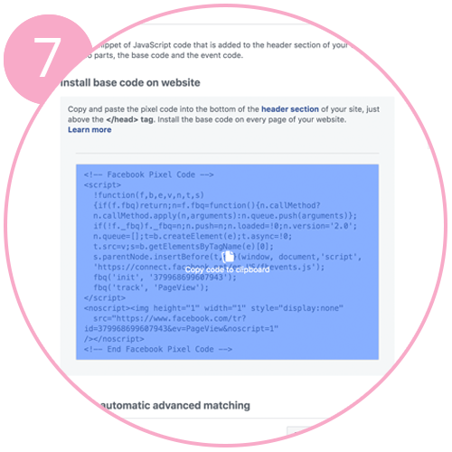 creating-a-Facebook-pixel-7