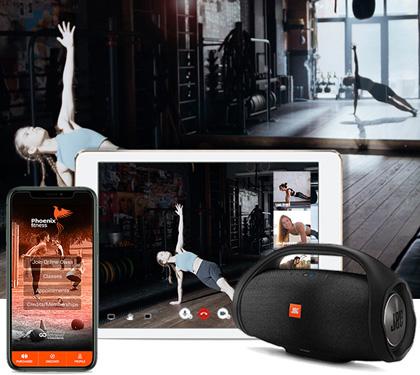 Fitness Studio Branded App live stream classes